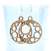 Crescent Circles Earrings